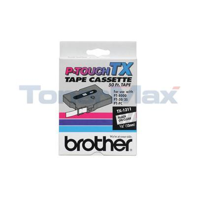 BROTHER PT-8000 30XL P-TOUCH TAPE (1/2 X 50)